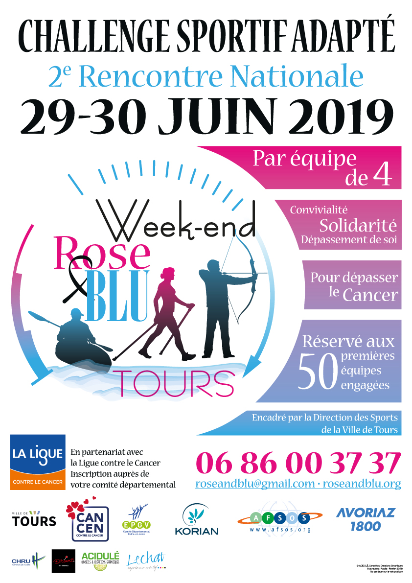 Week-end Rose & Blue 2019