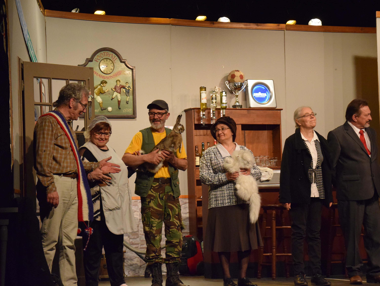 Théâtre au profit de Cancen et de l'unité de soins palliatifs de Luynes